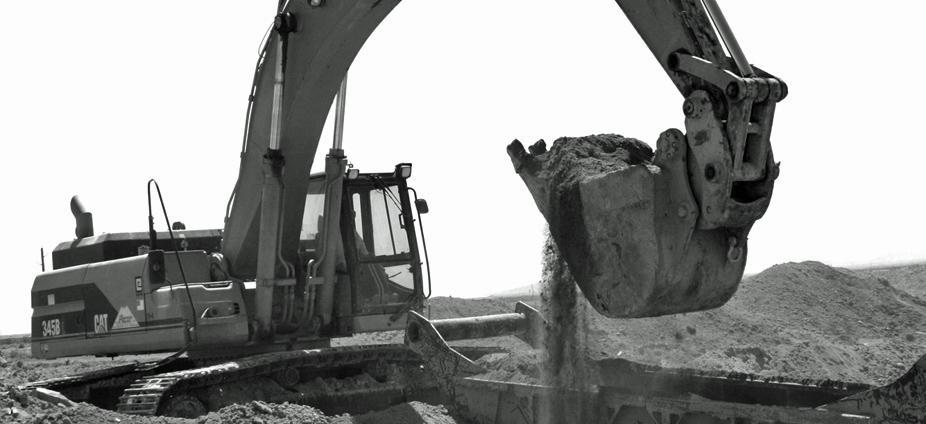 BandW - Excavator