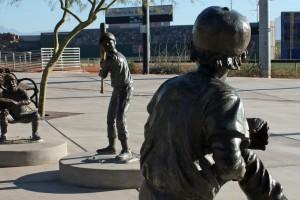 Big League Dreams - sculpture