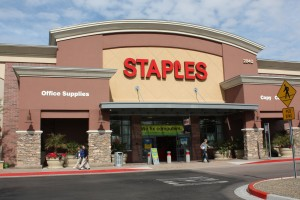 Crossroads Towne Center - Staples