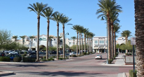 Dana Park - entrance road