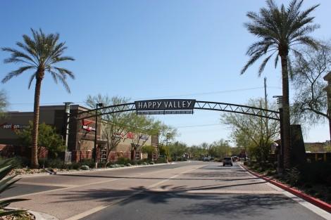 Happy Valley-banner entrance