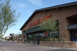 Home Depot Ocotillo front elevation