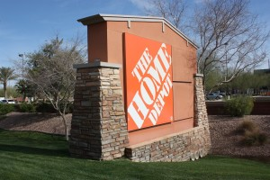 Home Depot Ocotillo sign