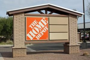 Home Depot - Power Ranch - sign