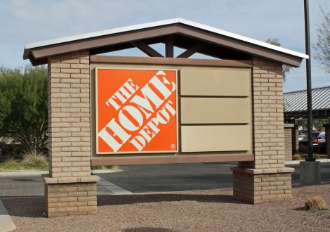 Home Depot - Power Ranch - sign