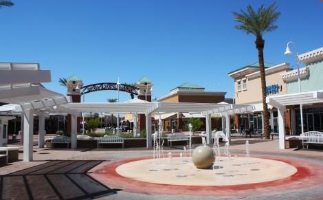 Mesa Riverview-fountain