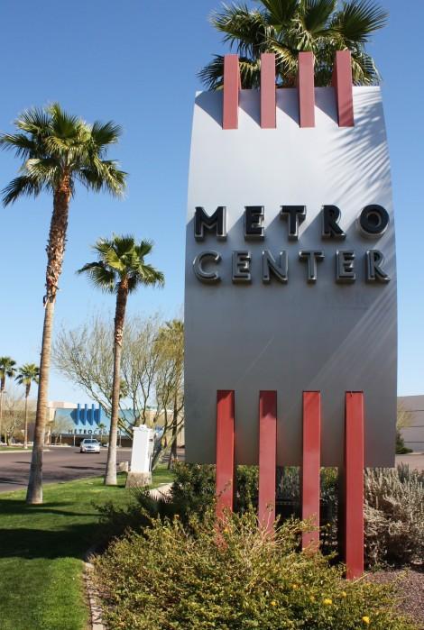 Metro-monument sign