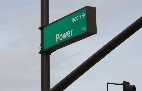 Power from Rittenhouse - sign