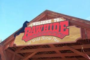 Rawhide sign