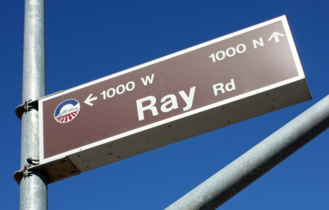 Ray Road Chandler - sign