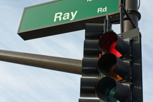 Ray Road - sign