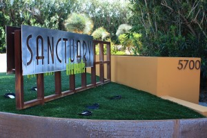 Sanctuary - sign