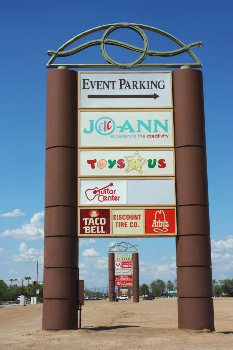 Scottsdale Pavilions-sign