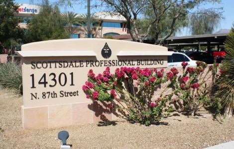 Scottsdale Professional Bldg-sign
