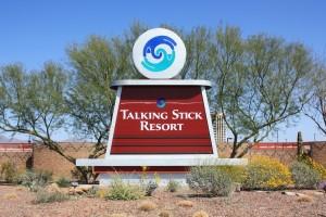 Talking Stick-sign