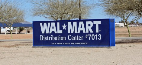 WalMart Dist - sign