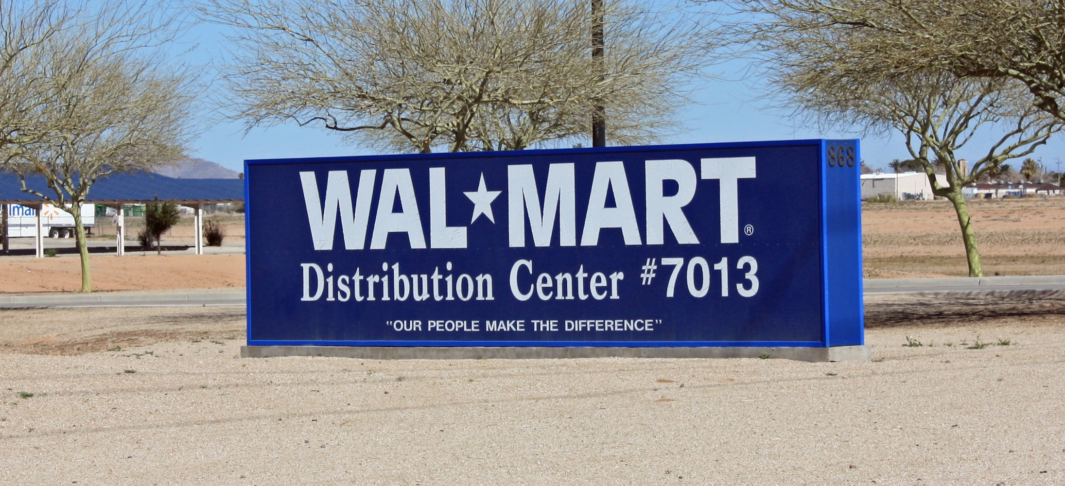 Wal Mart Regional Distribution Center Casa Grande Az