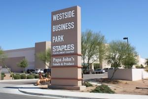 Westside Business Park-sign
