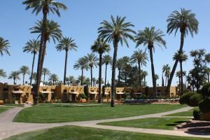 Wigwam - courtyard