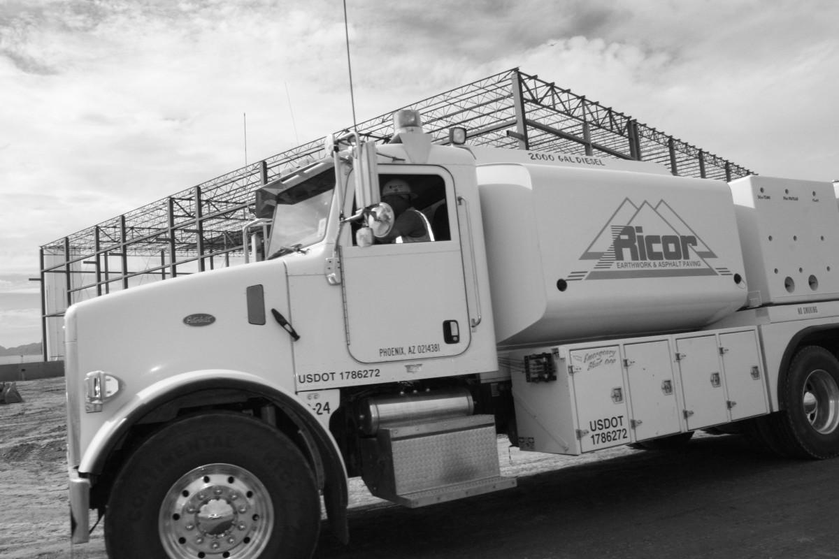 BandW Fuel Truck